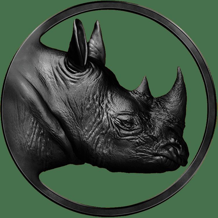 Logo Real Rhino Black