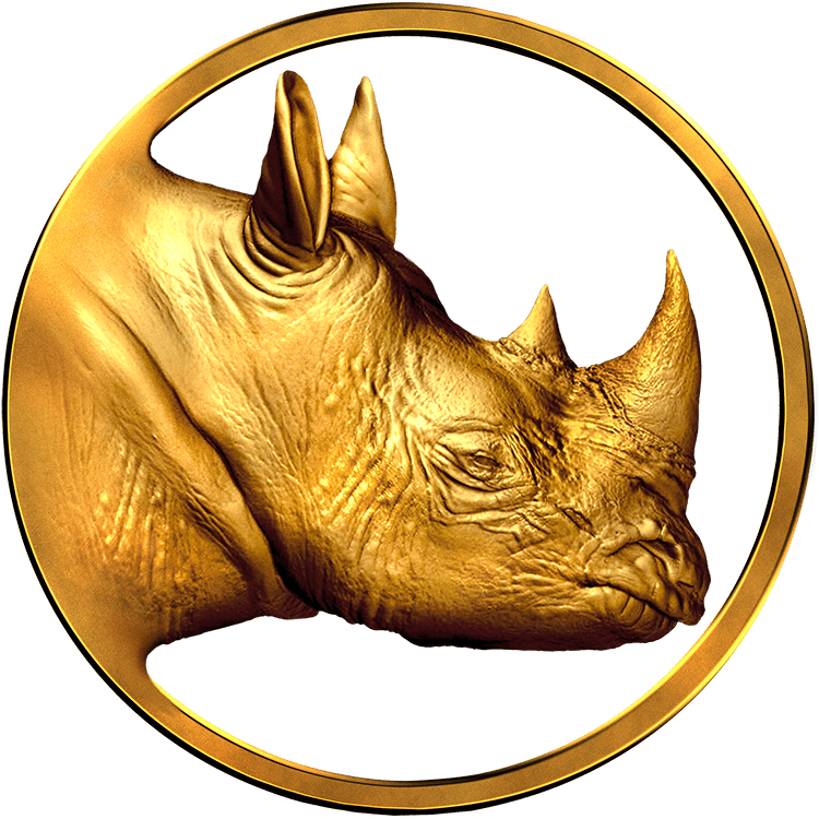Logo Real Rhino Gold