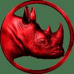 rhino red membership logo