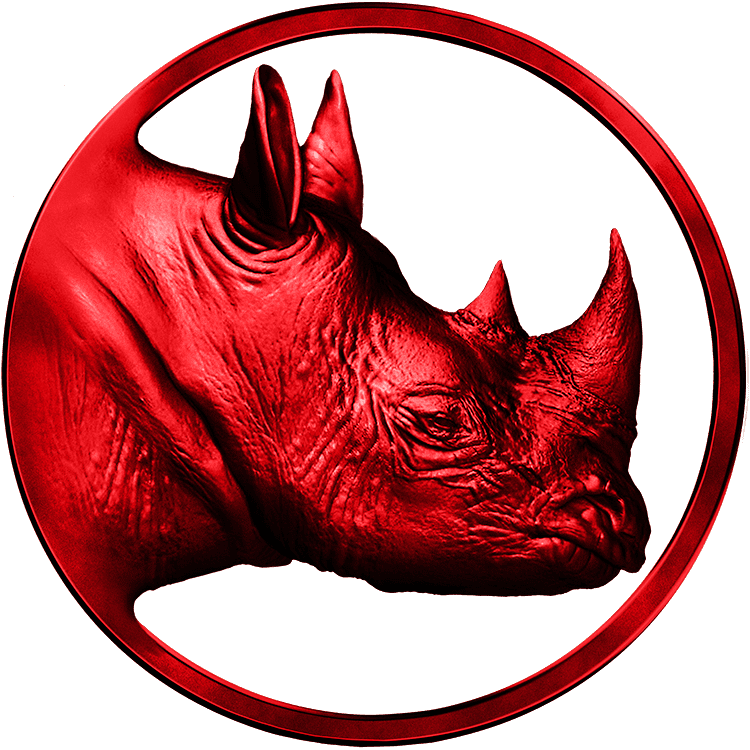 Logo Real Rhino Red