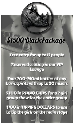 rhino package black
